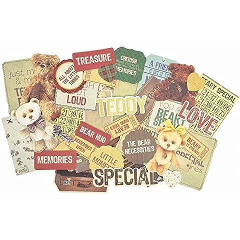 Kaiser Craft Orsetti Picnic Collezionismo Die-Cut Cards