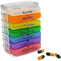 attachmenttou 7-Tage-Pille Mini-Kasten-Halter Medizin Dispenser Veranstalter Tabletten-Fall-bewegliche preisvergleich bei billige-tabletten.eu