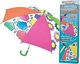 Regenschirm zum selber bemalen inklusive Farbe