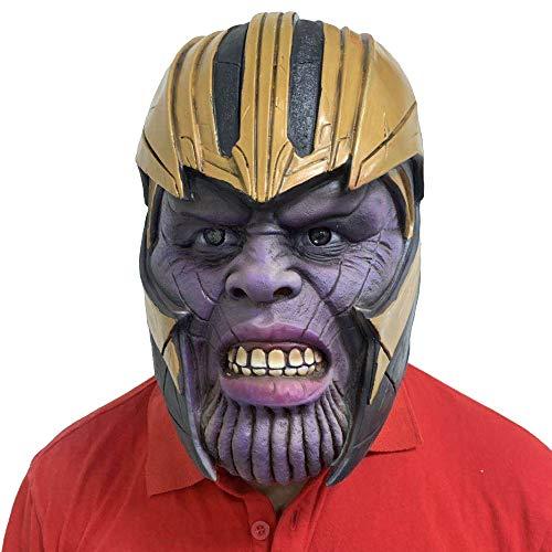 cary Voll Head Helm Film Cosplay erwachsenes Abendkleid Masquerade Zubehör Halloween-Geist-Masken,A-OneSize ()