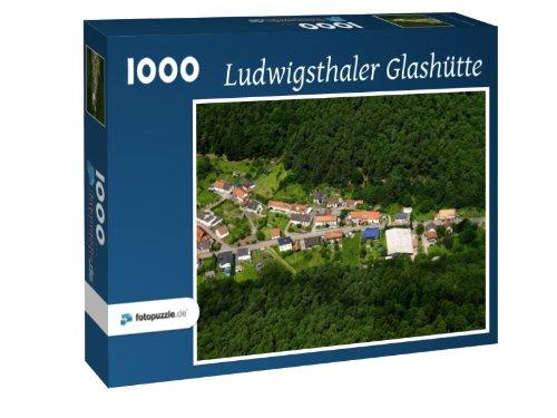 Preisvergleich Produktbild Ludwigsthaler Glashütte - Puzzle 1000 Teile mit Bild von oben