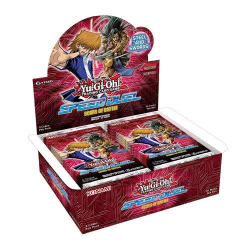 Yu-Gi-Oh! TCG Speed Duel - Scars of Battle - Booster Box (36 Packs) Importación inglesa
