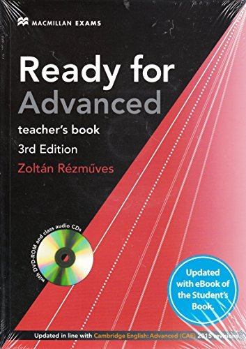 Ready for Advanced 3rd edition + eBook Teacher's Pack (Ready for Series) por Amanda French