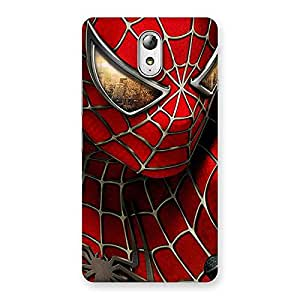 Delighted Spide Two Red Back Case Cover for Lenovo Vibe P1M