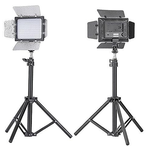 Bestlight W160Siège éclairage de studio photo coupe-flux LED d'éclairage continu