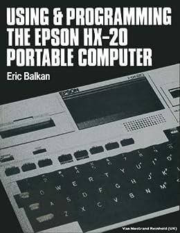 epson hx20 software