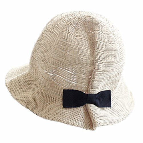 Fletion bambini cappello di paglia protezione UV cappello estivo floscio  cappello da sole cappello dei bambini intrecciato Sun della paglia 7d782a2f6f14