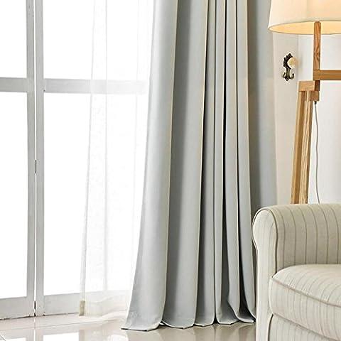 Rideaux occultants à œillets prêts à rideau pour chambre à coucher Salon balcon, 1pièces, 4, 1pcx(150x200 cm)