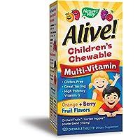 Natures Way, Alive, Bambini multi-Vitamina, 120 Compresse Masticabili