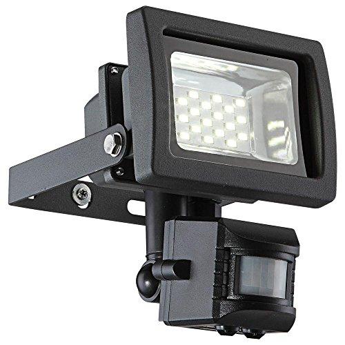 LED 10 Watt Wandleuchte Strahler Beleuchtung Bewegungsmelder Außenleuchte Baustrahler Globo RADIATOR III 34234S