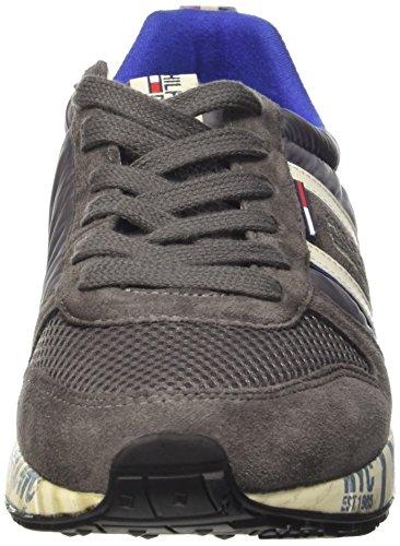 Tommy Hilfiger T2385RACK 1C, Scarpe LowTop Uomo Grigio Steel grigio grigio grigio 9b5de3