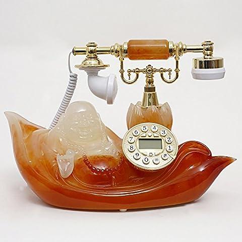 Xie europea Retro, telefoni con filo e creativo upscale antico telefono casa telefono fisso telefono fisso Caller ID telefono