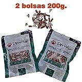 Kanxeto Perrito Sándwich triangulo, 2 Snacks Premio para Perros medianos y Gatos, 200g. Educativo Pollo