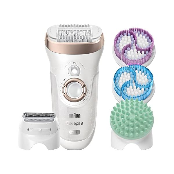 Braun Silk Epil Wet And Dry Cordless Epilator