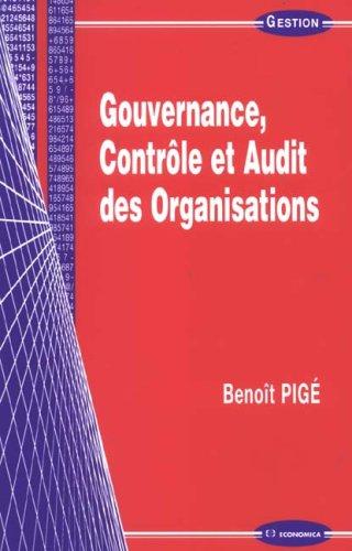 Gouvernance, contrôle et audit des organisations