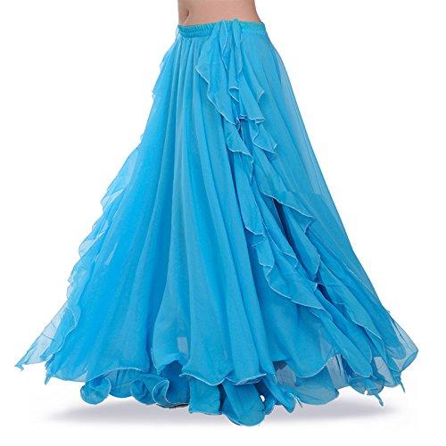 Royal smeela alta qualità nuovo costume da gonna di danza del ventre femminile pratica di danza abito da gonna in chiffon abbigliamento performance