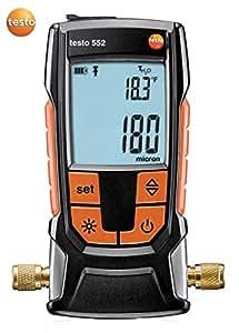 Vacuomètre électronique, avec capteur de pression absolue sans entretien - Testo 552