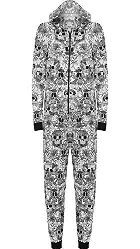 Freedom & Fashion Damen Strampelanzug Small Skull