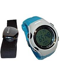al5002hr podómetro y ritmo cardíaco reloj con Manual en francés, 0.10 pounds, color - - himmelblau