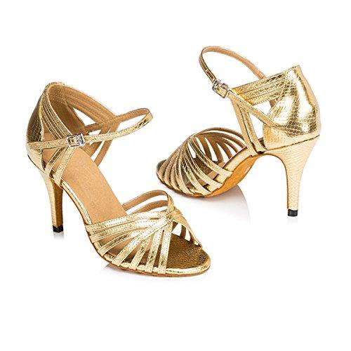 Miyoopark ,  Damen Tanzschuhe Gold-8.5cm Heel