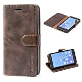 Huawei Honor 7 Case,Mulbess Leather Case, Flip Folio Book