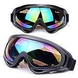 Motorrad-Schutzbrillen Astarye Universal-verstellbare UV-Schutzsicherheit Sport Outdoor-Gläser Windstaubschutz Skifahren & Taktische Gläser Militär Sonnenbrillen, um Partikel zu vermeiden