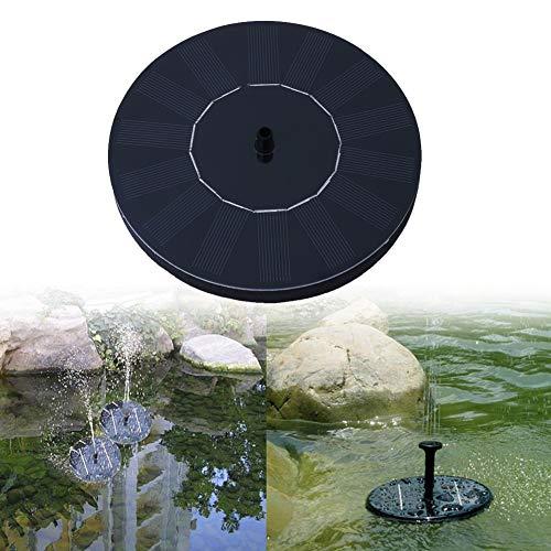 A-ZITCH Solar Brunnen Solar Wasser Brunnen Pumpe für Garten Pool Teich Bewässerung Outdoor solar Panel Pumpen Kit für Brunnen Drop -