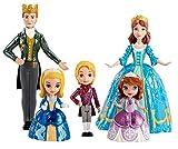Mattel Disney Princess CLG24 - Königliche Familie Minipuppe