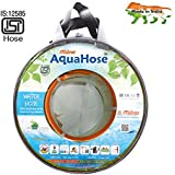 """AquaHose Floor Cleaning Water Hose Pipe (12.5mm ID) (1/2"""") - 50 Ft. (15 Mtr) ISI Marked Hose Pipe"""