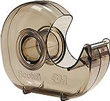 Scotch H127 Handabroller, 33 m x 19 mm, 12 Stück, rauch-transparent
