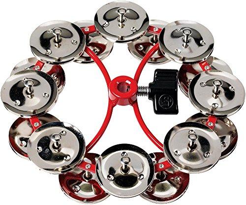 "LP Latin Percussion Tambourin City Hi-Hat Jingle Ring 5"", doppelreihig, 16 Paar Stahlschellen, montierbar, LP191NYD"