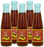 Royal Thai - Süße Chilisauce - 5er Pack (5 x 275ml) - Original Thai