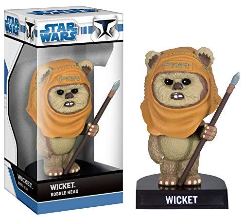 Star Wars EWOK Wicket Wackekopf PVC ca 13cm von Funko (Wicket Aus Wars Star)