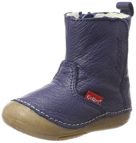 Kickers Baby Jungen SOCOOL Klassische Stiefel, Blau (Marine Cho), 20 EU