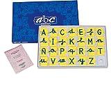 Miniland Educational 154252 - Juego didáctico Abecedario mayúsculas y minúsculas, 160 unidades