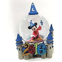 Walt Disney World 2016de Mickey Mouse y Castillo Snow Globe–Bola de nieve NUEVAS
