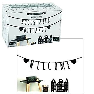 Annastore Girlande Message 100-tlg. individualisierbar DIY Buchstabengirlande Banner