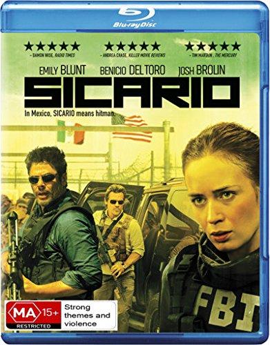 Sicario | NON-USA Format | Region B Import - Australia