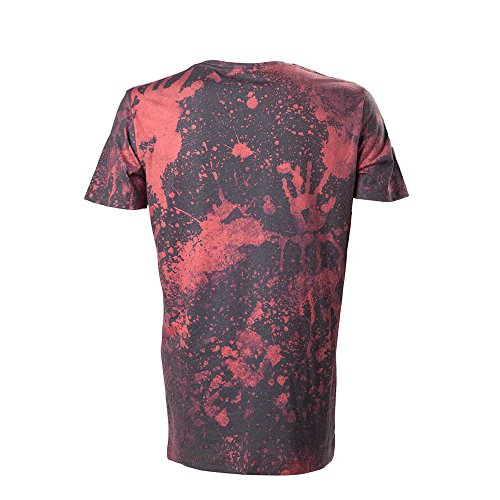 Resident Evil Blood Pattern T-Shirt schwarz/rot Rot