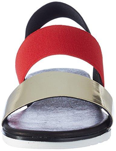 Pollini Damen 3246 Slingback Sandalen Mehrfarbig (Multicolor 90A)