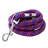 #6: Pawzone Strong Rope Leash for Big Dogs with Hook (Colour May Vary)