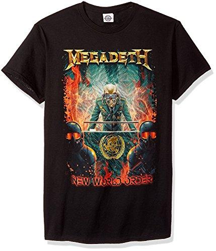 Megadeth - Camiseta - para Hombre Negro L