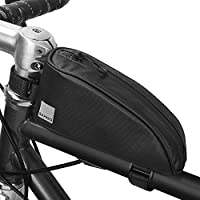 Decdeal Bike Top Tube Bag Bike Frame Bag Waterproof Bicycle Frame Bag Bicycle Cycling Accessories Pouch