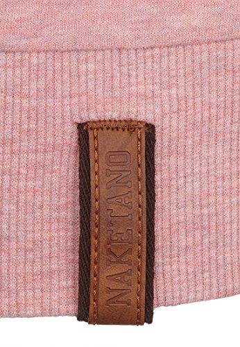 Naketano Female Sweatshirt Krokettenhorst Schmutzmuschi Pink Melange, M - 6