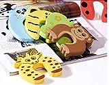 6 Stück B&B Original Türstopper Fingerschutz Klemmschutz Türstop Fingerklemmschutz Handschutz Kindertürsicherung Türpuffer niedliche Tiere