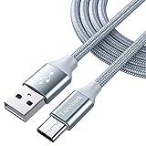 USB Typ C Kabel tsevinsek 6.6ft USB C Kabel Nylon Geflochten Schnell Ladekabel für Samsung Galaxy S9S8Note 8, Google Pixel, LG V30G6G5, Nintendo Schalter, OnePlus 5T3, Moto, MacBook und Mehr