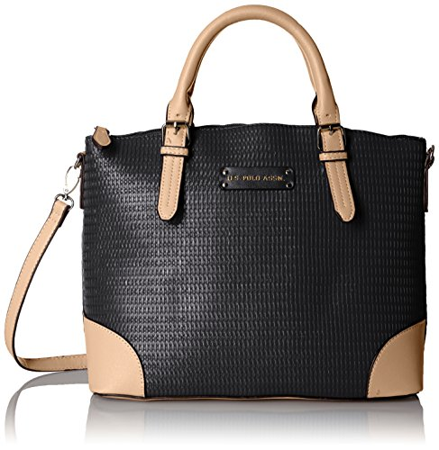 us-polo-association-hartford-satchel-black