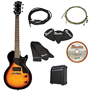 Gibson Innovations Maestro Electric Guitar Starter Package, Vintage Sunburst