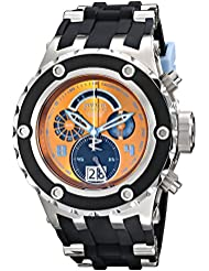 Invicta Subaqua 16253 52mm Stainless Steel Case Black Silicone flame fusion Men's Watch