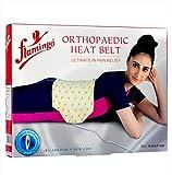 #6: Flamingo Orthopedic Heat Belt - Easy & Effective Heat Tharepy - Back Belt For Men & Women (Heat Pad)